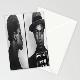 Malcolm X Mugshot 1944 Stationery Cards