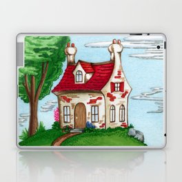 Hilltop Cottage Laptop & iPad Skin