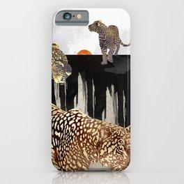 Minimal Leopards iPhone Case