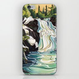 Winter Waterfalls iPhone Skin