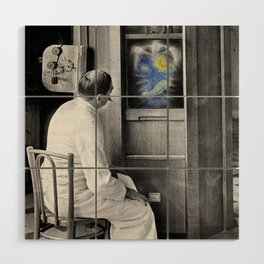 Van Gogh X Ray -  © Tony Leone Wood Wall Art