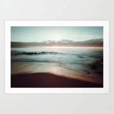 Lomo Waves Art Print