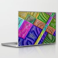 agate Laptop & iPad Skins featuring Agate by RingWaveArt