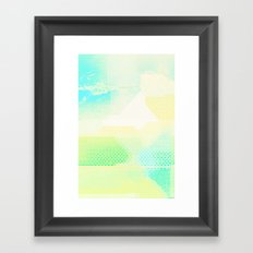 Missing Landscape Framed Art Print