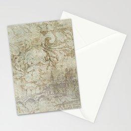Vintage Provincial Wallpaper Stationery Cards