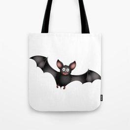 cartoon bat Tote Bag