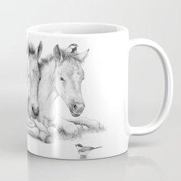 Twin Foals Coffee Mug