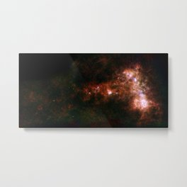 Small Magellanic Cloud, infared Metal Print