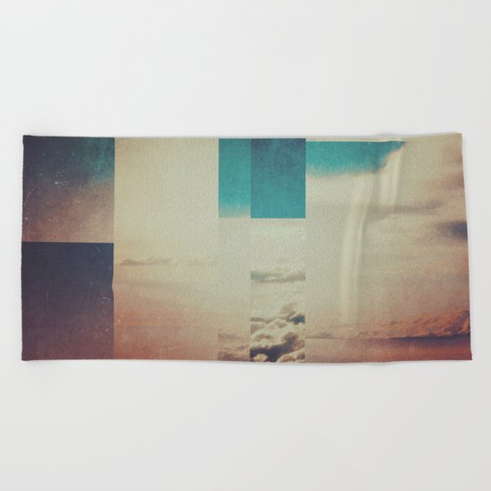 Fractions A27 Beach Towel
