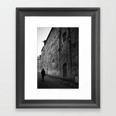 ... the day before yesterday ... Framed Art Print