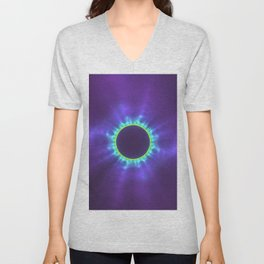 The Eye of Manifestation Unisex V-Neck