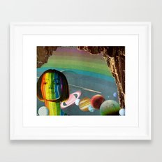 The Keeper of Color Framed Art Print