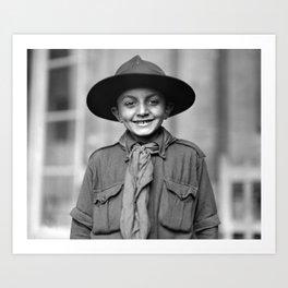 American Red Cross Boy Scout - 1918 Art Print
