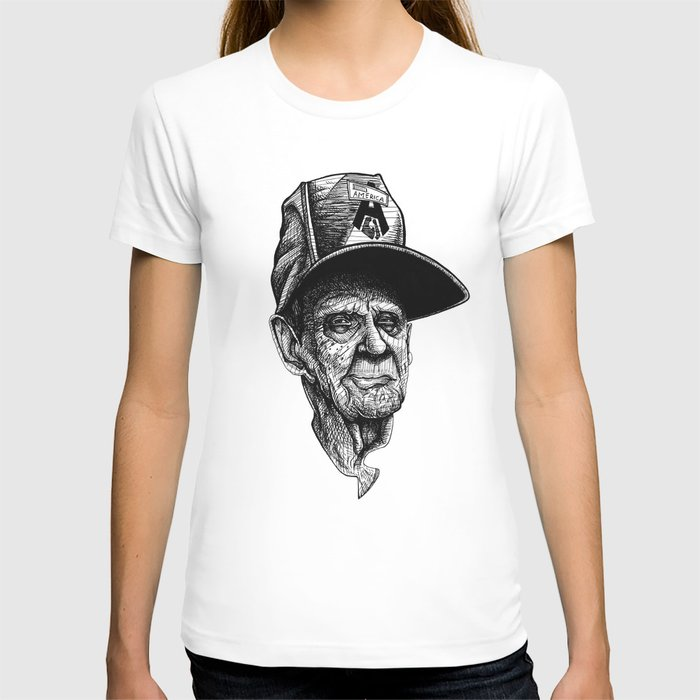 elder man head T-shirt