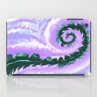 psych iPad Cases featuring Psych Tentacle by Vee D Alexx