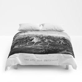 Robert E. Lee And His Generals  Comforters