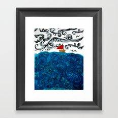 Elemental Duo: Water & Air Framed Art Print