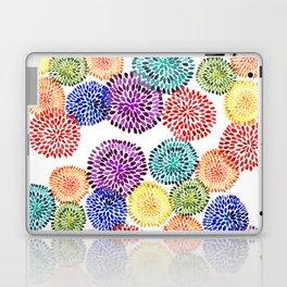 Dancing Dahlias Laptop & iPad Skin