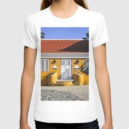Aruba yellow house T-shirt
