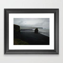 Kap Dyrholaey Framed Art Print