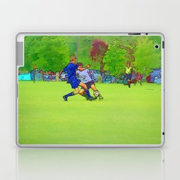 The Big Steal - Soccer Players Laptop & iPad Skin