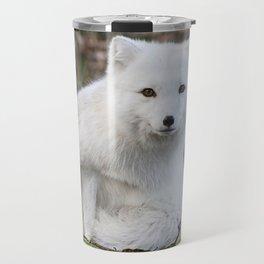 Polar Fox by Anne Elisabeth Travel Mug
