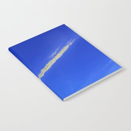 Flash of gold in the sky Notebook