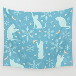 festive flurry Wall Tapestry