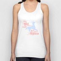blade runner Tank Tops featuring Blade Runner Unicorn by Joe Badon