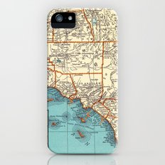 So Cal Surf Map iPhone (5, 5s) Slim Case
