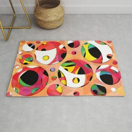 pattern of melody  Rug