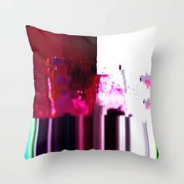Hex IV Throw Pillow
