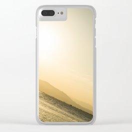 Persigue tus sueños Clear iPhone Case