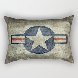 US Airforce style Roundel insignia V2 Rectangular Pillow