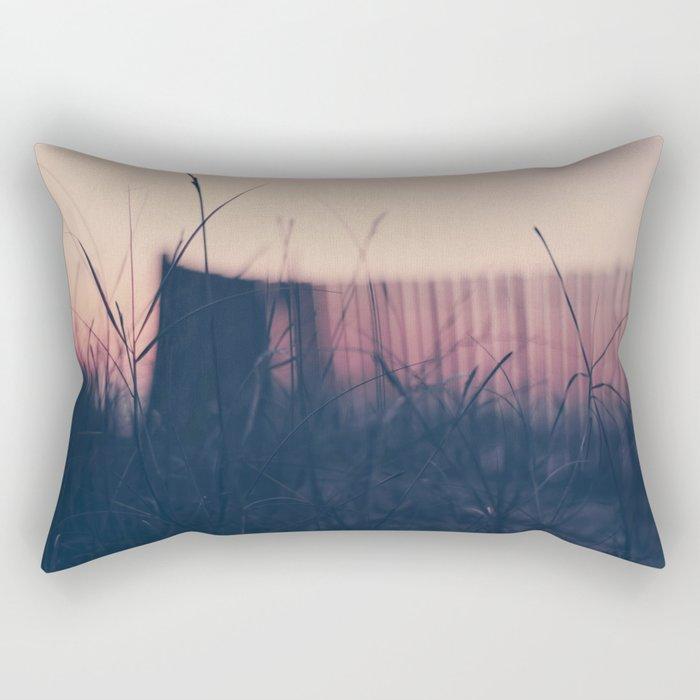 beach sunset II Rectangular Pillow