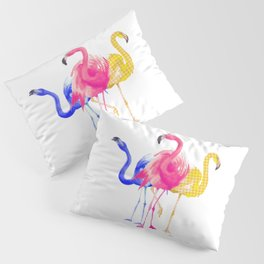 Catwalk Flamingo's Pillow Sham