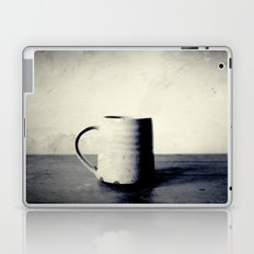 Cup of coffee on a table Laptop & iPad Skin