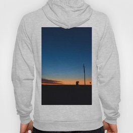 Outback sunset Hoody