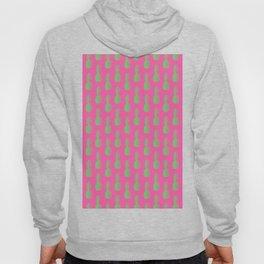 Pineapples - Pink & Green #464 Hoody