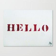 Hello You Canvas Print