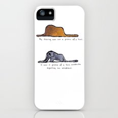 Monoprinting Le Petit Prince Slim Case iPhone (5, 5s)