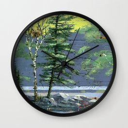 eagle's nest Wall Clock