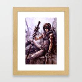 ADI KARTIKA Framed Art Print