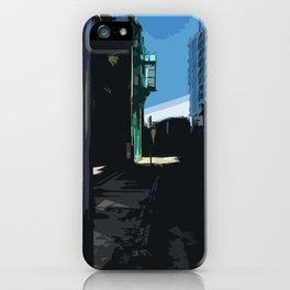 Dark Street iPhone Case