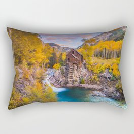 Crystal Mill Rectangular Pillow