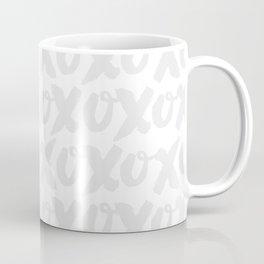 XOXO - Light Gray Coffee Mug