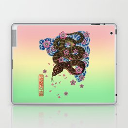 tattoo snake  Laptop & iPad Skin