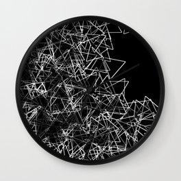 Oragami (triangular) Wall Clock