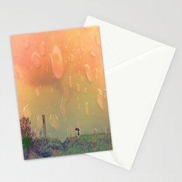 Rain in September Stationery Cards
