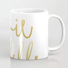 La vie est belle #society6 #typography #buyart Coffee Mug
